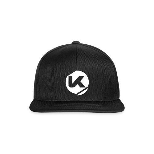 Logo K Blanc Vector - Snapback Cap
