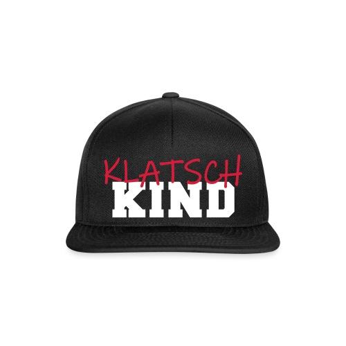 Klatschkind Technokind verklatscht Druffi Spruch - Snapback Cap