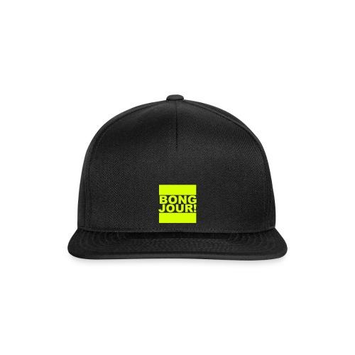 BONGJOUR! - Snapback Cap