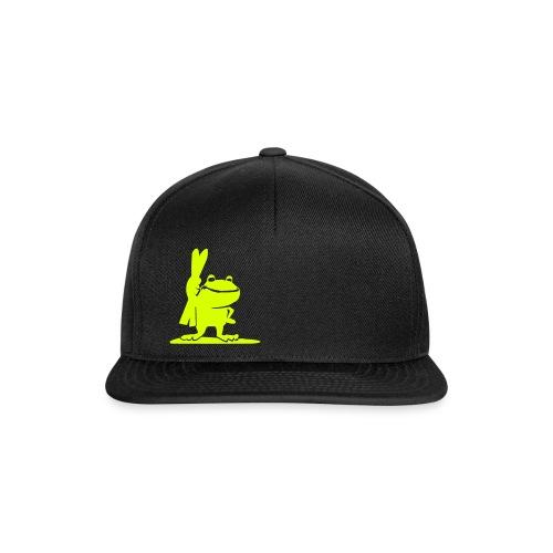 Kapuzenjacke mit Lime - Snapback Cap