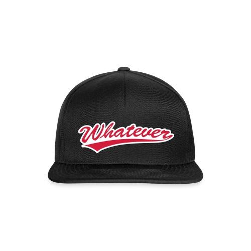 Whatever - Snapback Cap