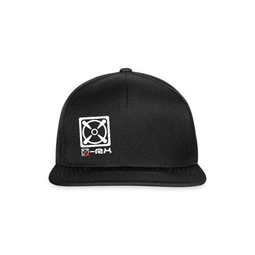 x logo png - Snapback Cap