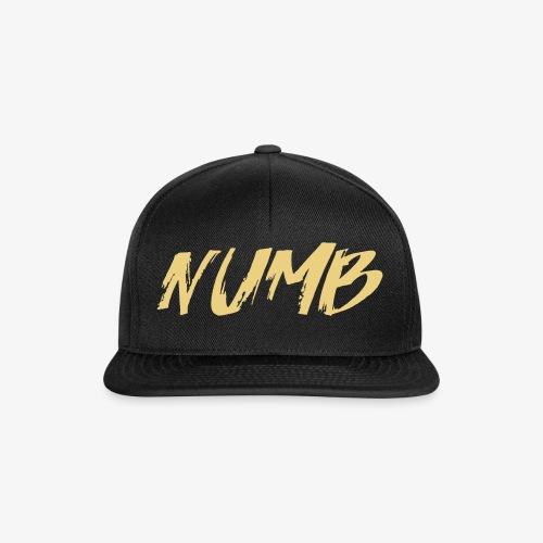 NUMB - Snapback Cap