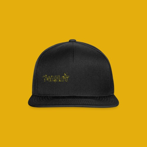 T4Army Yellow White - Snapback Cap