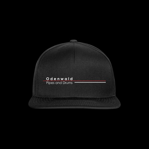 Odewald Pipes and Drums Logo transparenter - Snapback Cap
