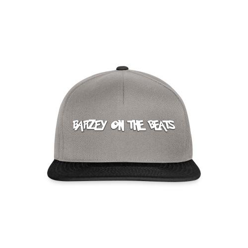 barzey on the beats 4 - Snapback Cap
