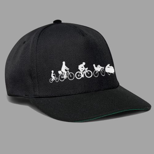 Bicycle evolution white - Snapback Cap