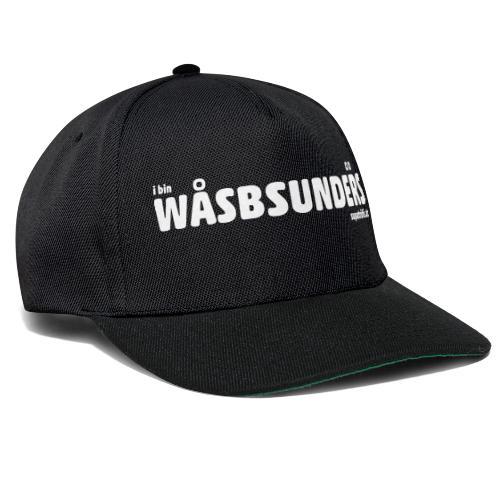 supatrüfö wasbsunders - Snapback Cap
