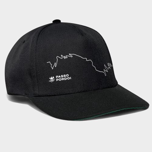 Pordoijoch - Line Design - Snapback Cap