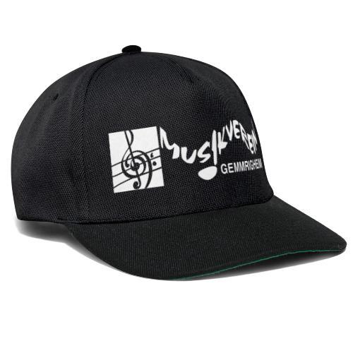 MVG Logo weiß - Snapback Cap