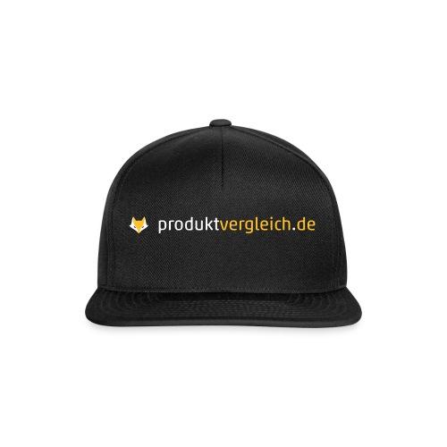 180308 Logo Produktvergleich de white orange - Snapback Cap