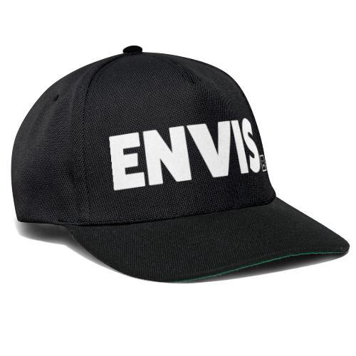 Envis Logo Text Vit - Snapbackkeps