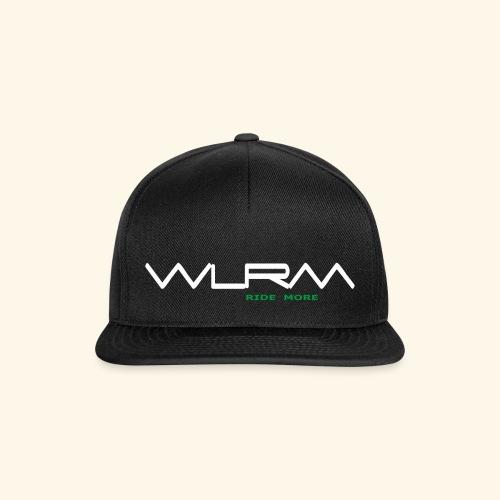 WLRM Schriftzug white png - Snapback Cap