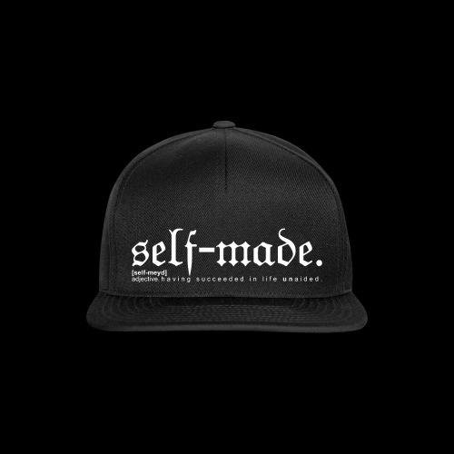 SELF-MADE BW - Snapback Cap