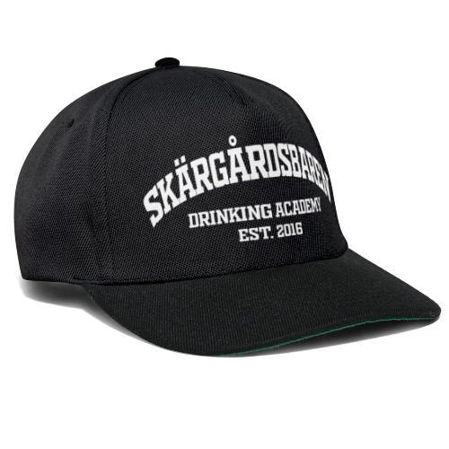 SB drinking academy White - Snapback Cap