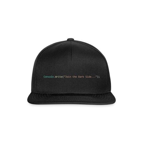 IDE Programming Dark Theme C# - Snapback Cap