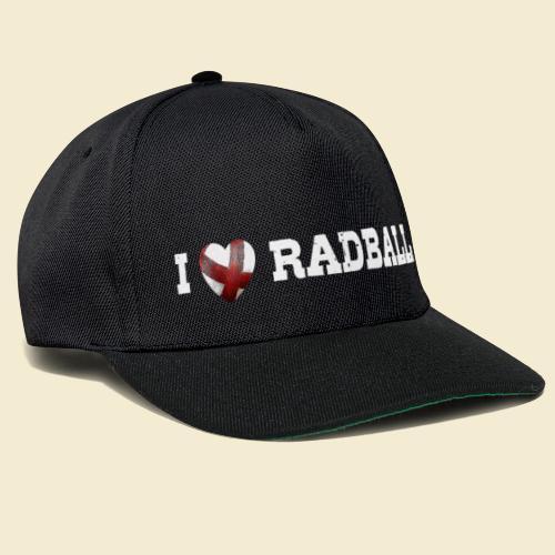 Radball | I Love Radball - Snapback Cap