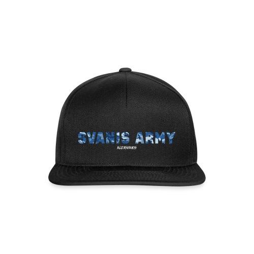 SVANIS ARMY (ALEXSVANIS VIT) - Snapbackkeps