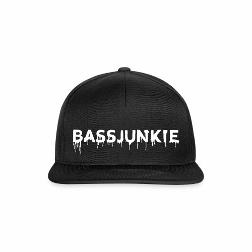 Bassjunkie Bass Liebe Electronic Music Dark Musik - Snapback Cap