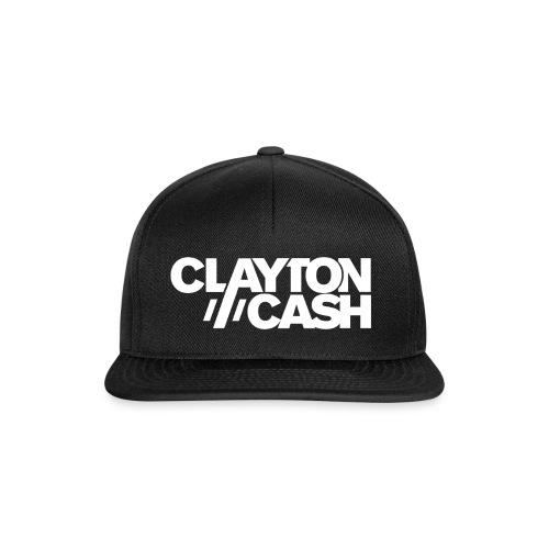 Clayton Cash Black/White - Snapback cap