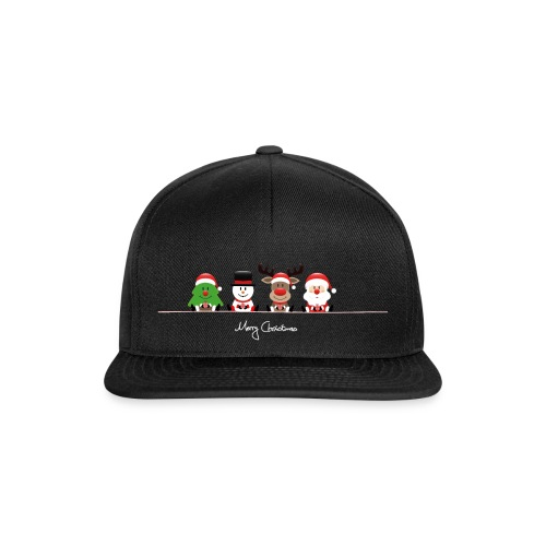 Merry Christmas Caps - Snapback Cap