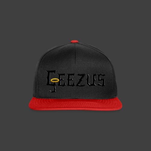 GEEZUS logo - Snapback Cap