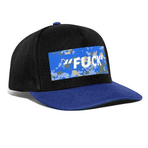 FUCK Box Logo Camo Edition - Snapback Cap