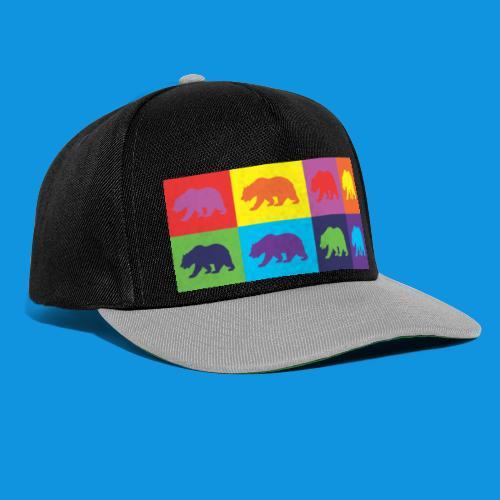 Warhol Bear tank - Snapback Cap