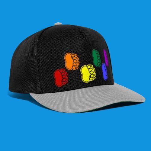 Rainbow Paws tank - Snapback Cap