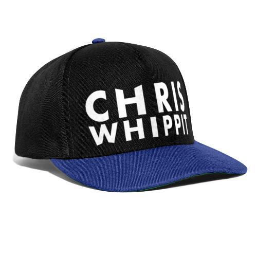 ChrisWhippit Tshirt logo - Snapbackkeps