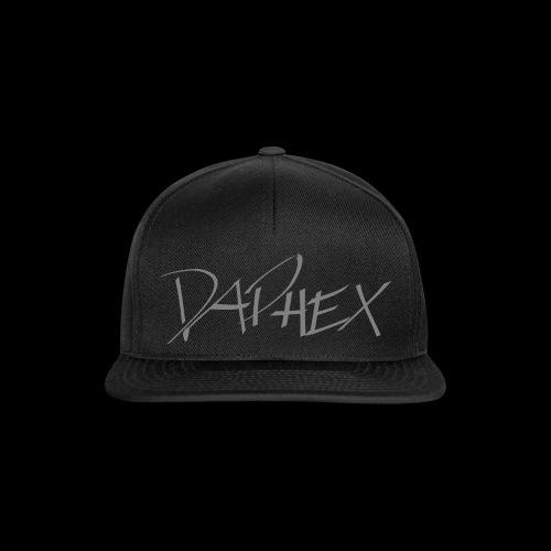 DAPHEX gray - Snapback Cap