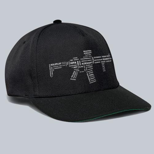 TXT RIFLE (White) - REAPERs Airsoft - Snapback Cap
