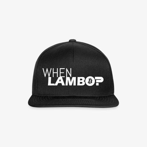 HODL-when lambo-w - Snapback Cap