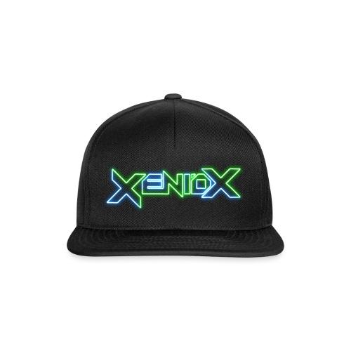Xeniox Neon Logo - Snapback Cap