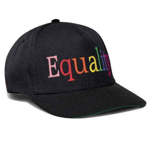 Equality | Regenbogen | LGBT | Proud - Snapback Cap