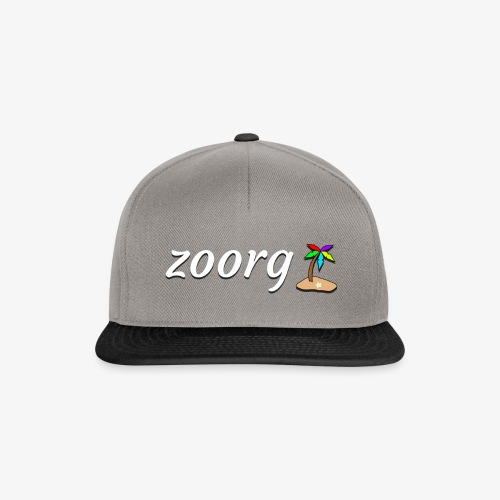 Zoorg with Logo - Snapback Cap