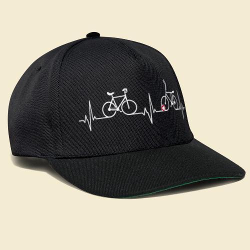 Heart Monitor Kunstrad & Radball - Snapback Cap