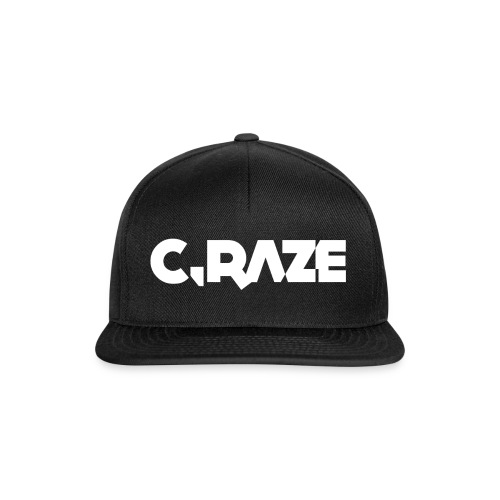 Raze White - Snapback Cap