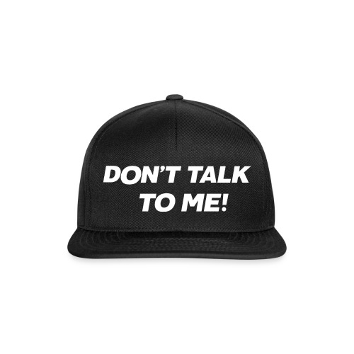 The Masked Singer Don't talk to me! Print - Snapback Cap