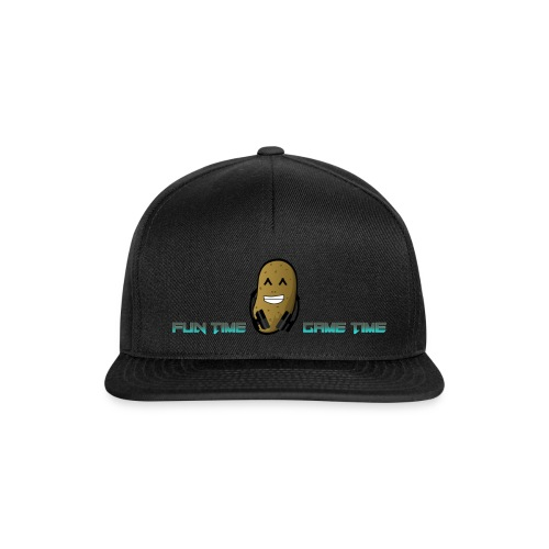 Fun Time Game Time w logo png - Snapback Cap