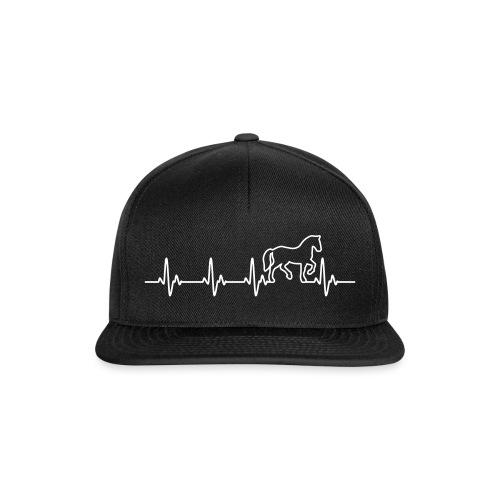 Vorschau: Horse Heartbeat - Snapback Cap