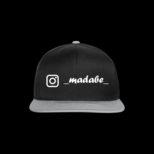 madabe instagram weiss - Snapback Cap