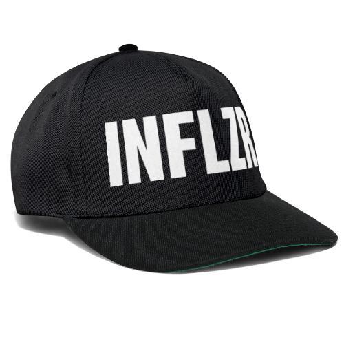INFLZR white - Snapback Cap