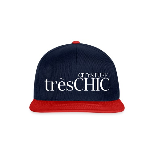 tres_chic_1 - Snapback Cap