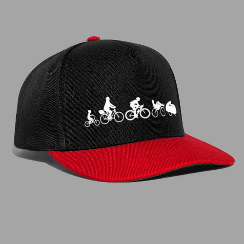 Bicycle evolution white - Snapback Cap