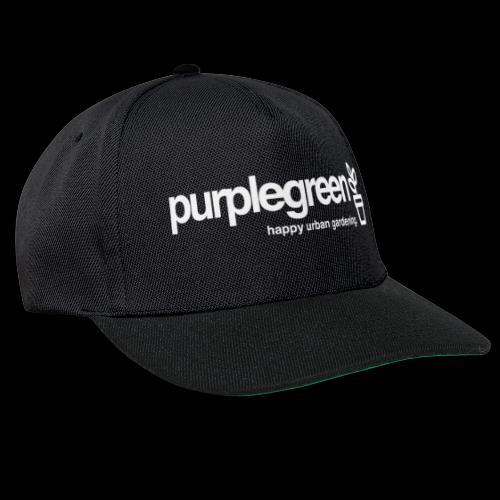 purplegreen classic - Snapback Cap