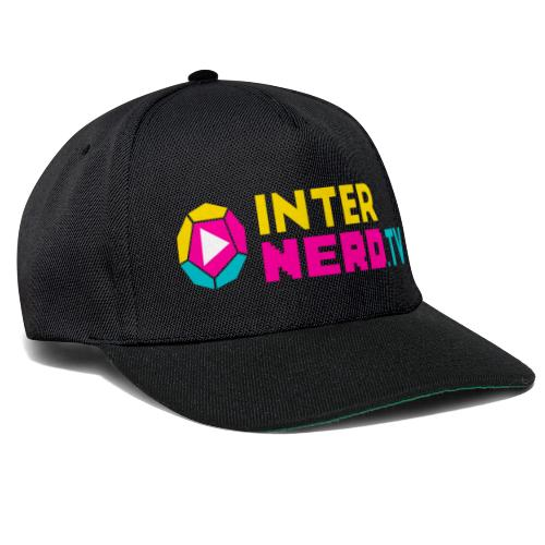 internerd.TV + Logo - Snapback Cap