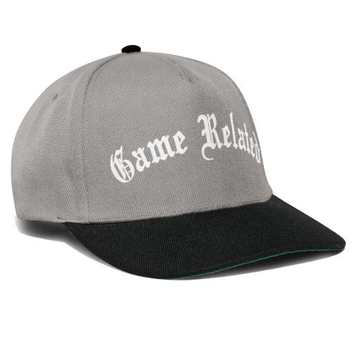 Game Related - valkoinen printti - Snapback Cap