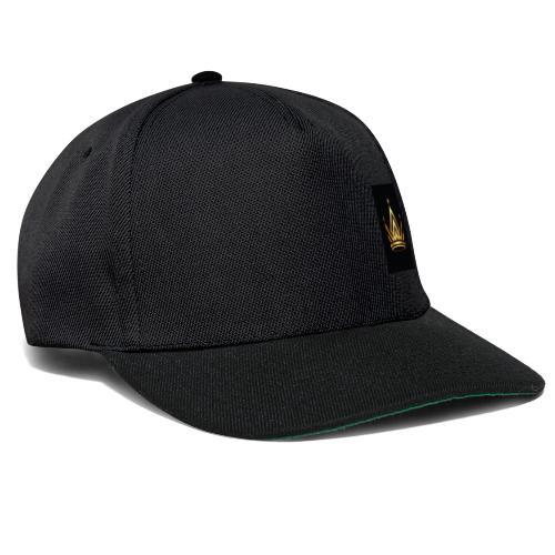 moderner kronen logo royal king queen zusammenfass - Snapback Cap