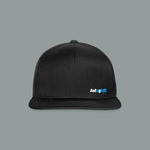 Anlogkid_Logo_Blau - Snapback Cap